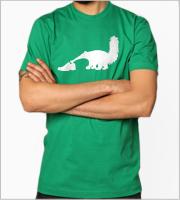 T-skjorte med rund hals